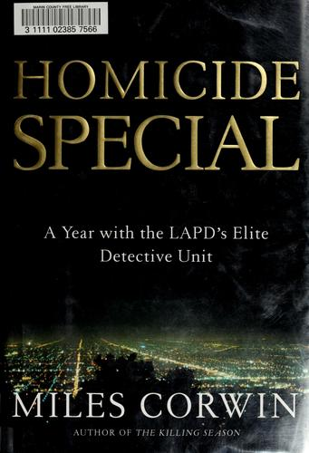 Download Homicide special
