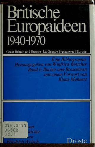 Download Britische Europaideen, 1940-1970.