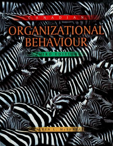 Download Canadian organizational behaviour