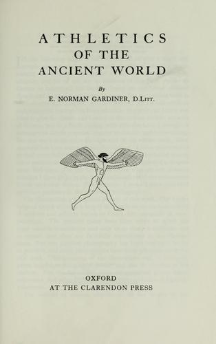 Download Athletics of the ancient world.