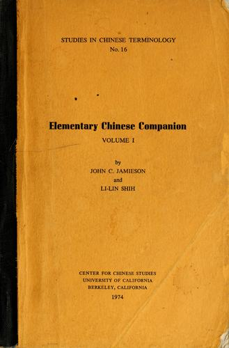 Download Elementary Chinese companion