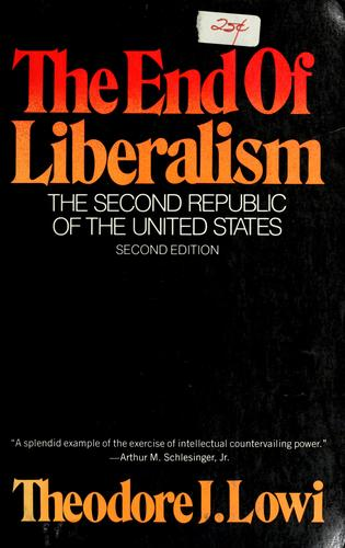 The  end of liberalism