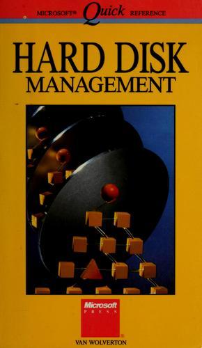 Hard disk management