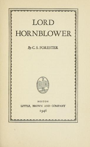 Download Lord Hornblower
