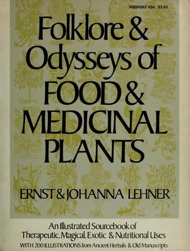 Download Folklore & odysseys of food & medicinal plants