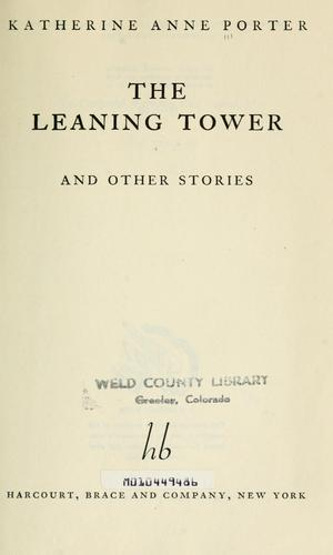 The leaning tower, and other stories.
