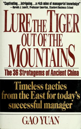 Download Lure the tiger out of the mountains