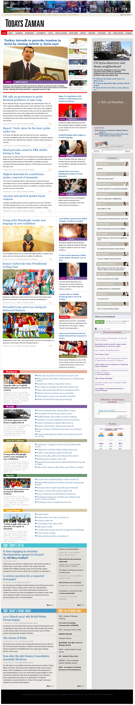 Zaman Online at Sunday April 29, 2012, 10:37 p.m. UTC