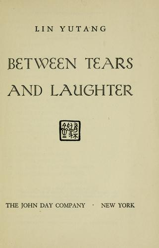 Between tears and laughter.
