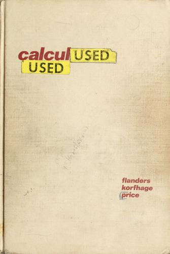 Calculus by Harley Flanders