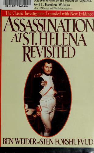 Assassination at St. Helena revisited by Ben Weider