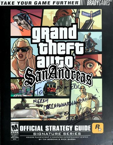 Grand Theft Auto San Andreas by Tim Bogenn