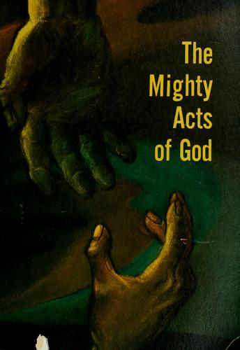 The mighty acts of God by Marshall, Robert J.