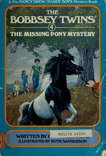 The missing pony mystery by Laura Lee Hope