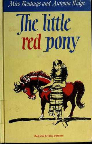 The little red pony by Mies Bouhuys