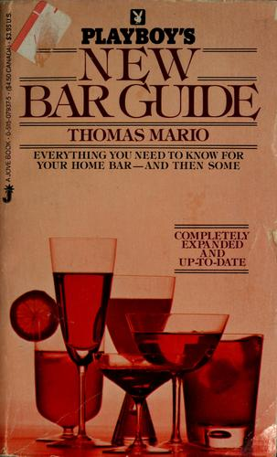 Playboy's new bar guide by Thomas Mario