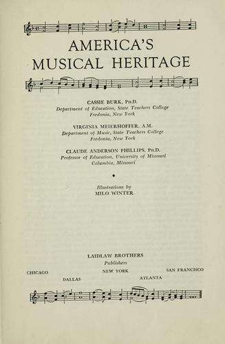 America's musical heritage