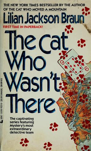 The cat who wasn't there by Jean Little